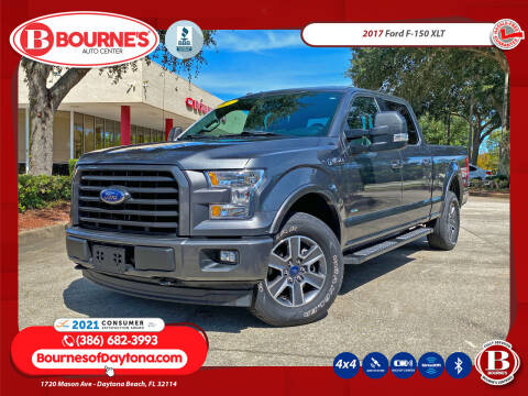 2017 Ford F-150 for sale at Bourne's Auto Center in Daytona Beach FL