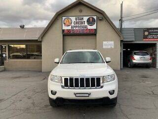 2011 Jeep Grand Cherokee for sale at Utah Credit Approval Auto Sales in Murray UT