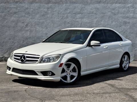 2010 Mercedes-Benz C-Class for sale at Divine Motors in Las Vegas NV