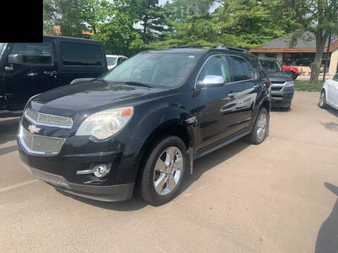 2012 Chevrolet Equinox for sale at Leonard Enterprise Used Cars in Orion Township MI