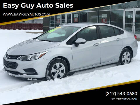 2018 Chevrolet Cruze for sale at Easy Guy Auto Sales in Indianapolis IN