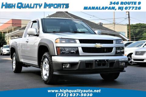2012 Chevrolet Colorado for sale at High Quality Imports in Manalapan NJ