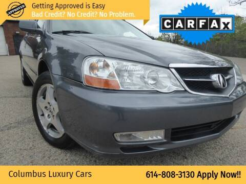 2003 Acura TL for sale at Columbus Luxury Cars in Columbus OH