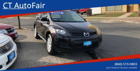 2008 Mazda CX-7 for sale at CT AutoFair in West Hartford CT