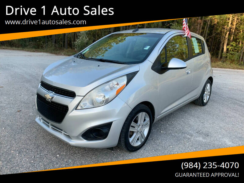 2013 Chevrolet Spark for sale at Drive 1 Auto Sales in Wake Forest NC