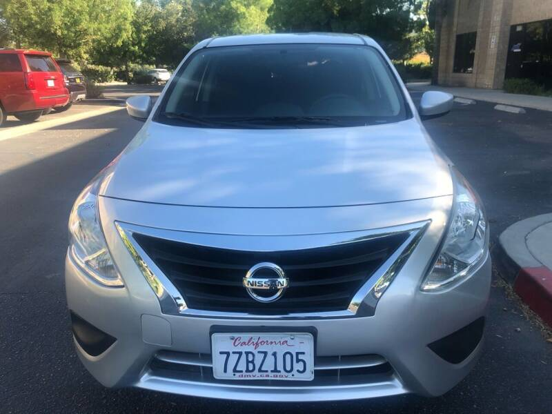 2017 Nissan Versa for sale at Faith Auto Sales in Temecula CA