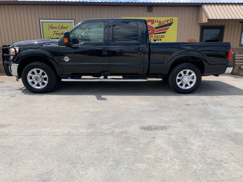 2013 Ford F-250 Super Duty for sale at BIG 'S' AUTO & TRACTOR SALES in Blanchard OK
