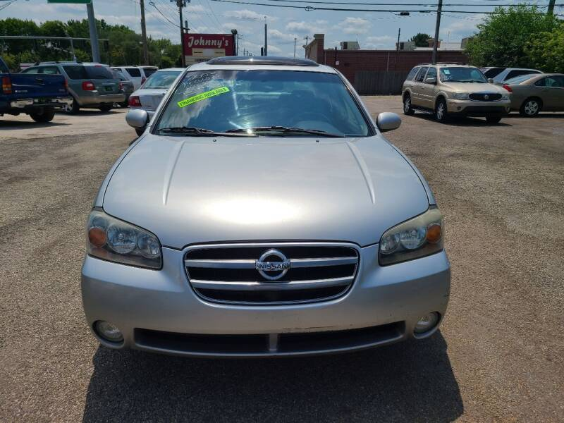 2003 Nissan Maxima for sale at Johnny's Motor Cars in Toledo OH