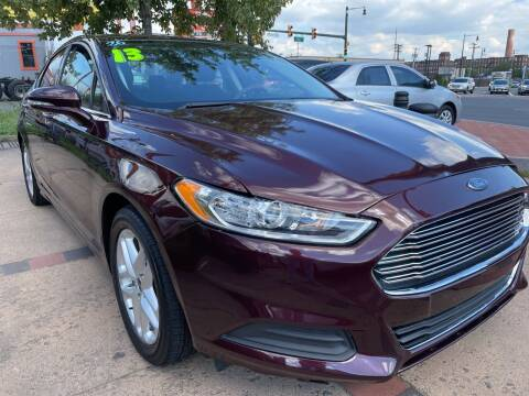 2013 Ford Fusion for sale at TOP SHELF AUTOMOTIVE in Newark NJ