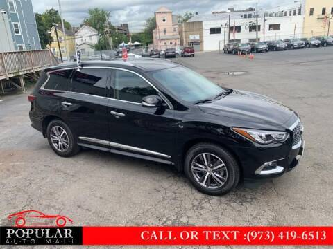 2017 Infiniti QX60 for sale at Popular Auto Mall Inc in Newark NJ