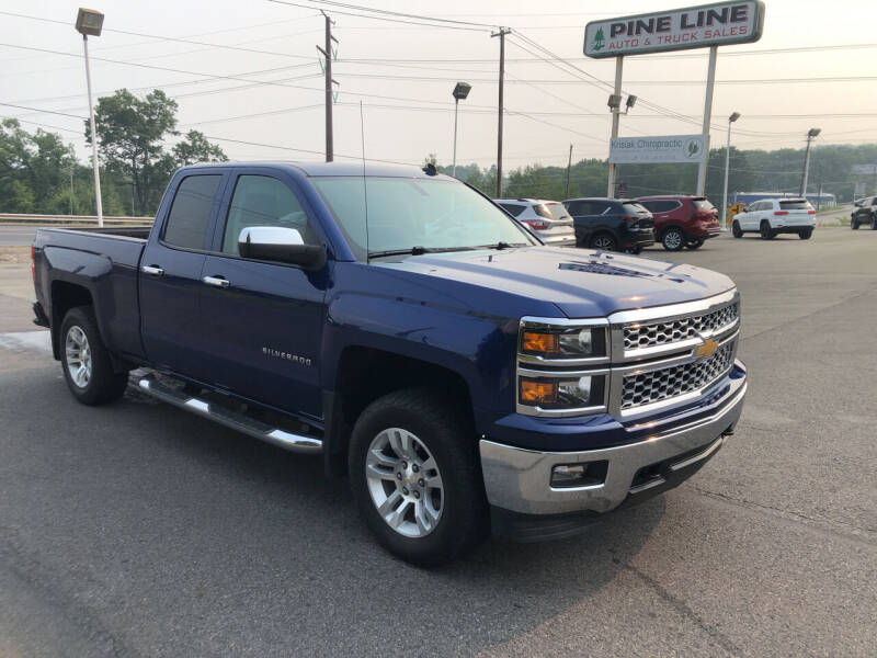 2014 Chevrolet Silverado 1500 for sale at Pine Line Auto in Olyphant PA
