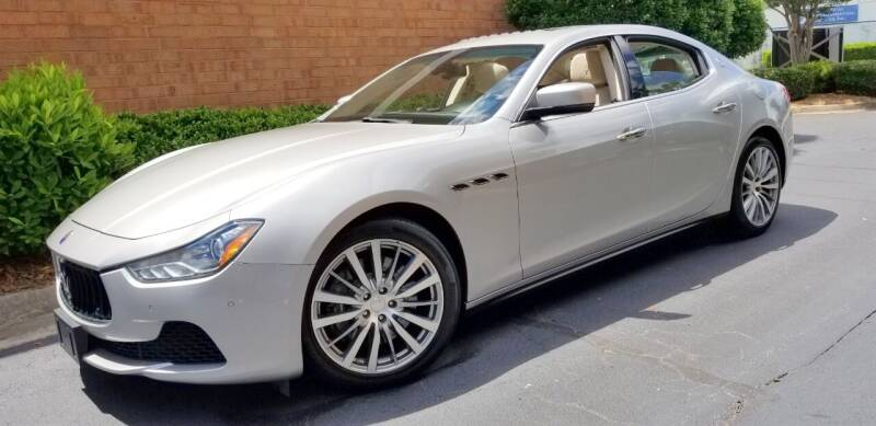 2015 Maserati Ghibli for sale at RPM Exotic Cars in Atlanta GA