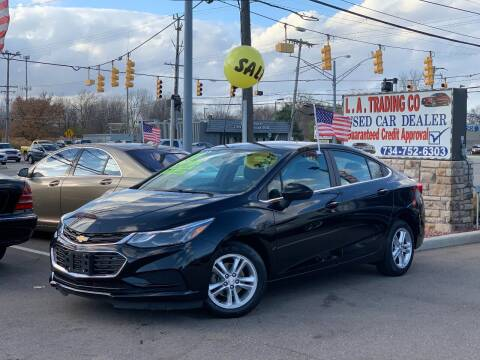 2017 Chevrolet Cruze for sale at L.A. Trading Co. in Woodhaven MI