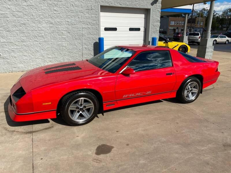 1986 Chevrolet Camaro for sale at Motor City Direct Auto Sales & Service in Pontiac MI
