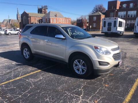 2016 Chevrolet Equinox for sale at DC Auto Sales Inc in Saint Louis MO