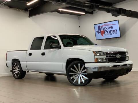 2006 Chevrolet Silverado 1500 for sale at Texas Prime Motors in Houston TX
