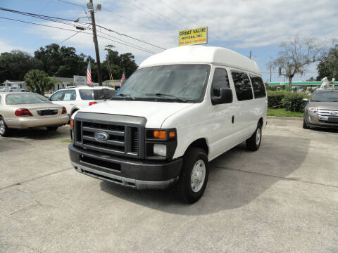 2010 Ford E-Series Cargo for sale at GREAT VALUE MOTORS in Jacksonville FL