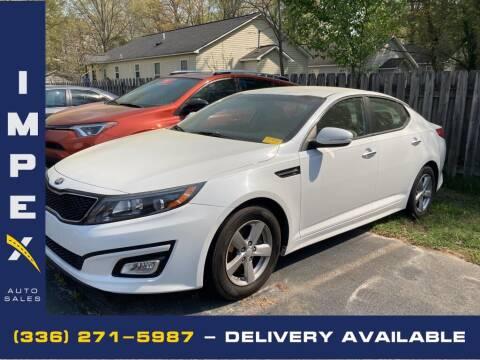 2014 Kia Optima for sale at Impex Auto Sales in Greensboro NC