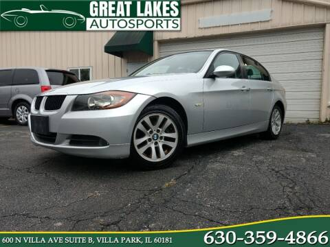 2007 BMW 3 Series for sale at Great Lakes AutoSports in Villa Park IL