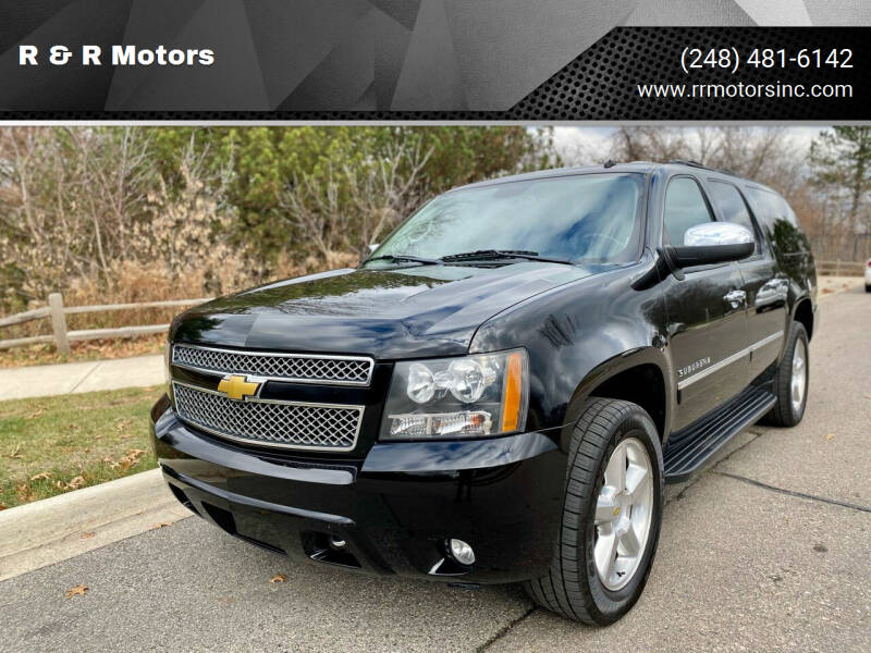 2011 Chevrolet Suburban for sale at R & R Motors in Waterford MI