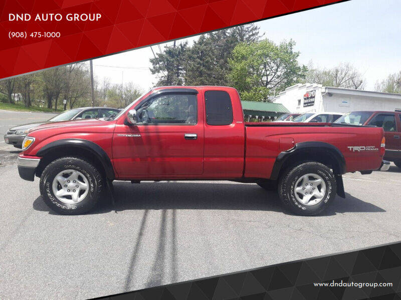 2002 Toyota Tacoma for sale at DND AUTO GROUP in Belvidere NJ