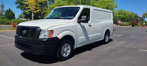 2016 Nissan NV Cargo for sale at Cars R Us in Rocklin CA