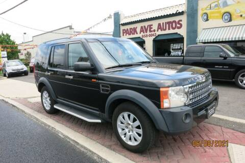 2006 Land Rover LR3 for sale at PARK AVENUE AUTOS in Collingswood NJ