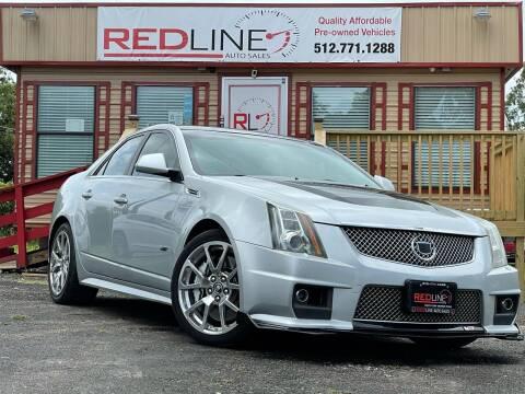2009 Cadillac CTS-V for sale at REDLINE AUTO SALES LLC in Cedar Creek TX