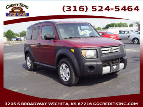 2007 Honda Element for sale at Credit King Auto Sales in Wichita KS