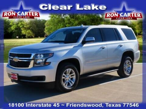 2020 Chevrolet Tahoe for sale at Ron Carter  Clear Lake Used Cars in Houston TX