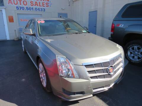 2010 Cadillac CTS for sale at Small Town Auto Sales in Hazleton PA