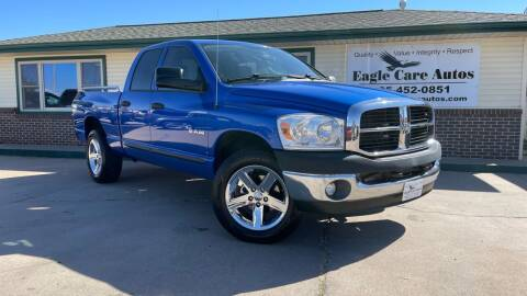 2008 Dodge Ram Pickup 1500 for sale at Eagle Care Autos in Mcpherson KS