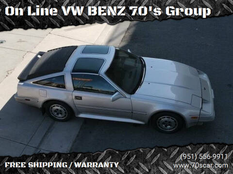 1986 Nissan 300ZX for sale at On Line VW BENZ 70's Group in Warehouse CA