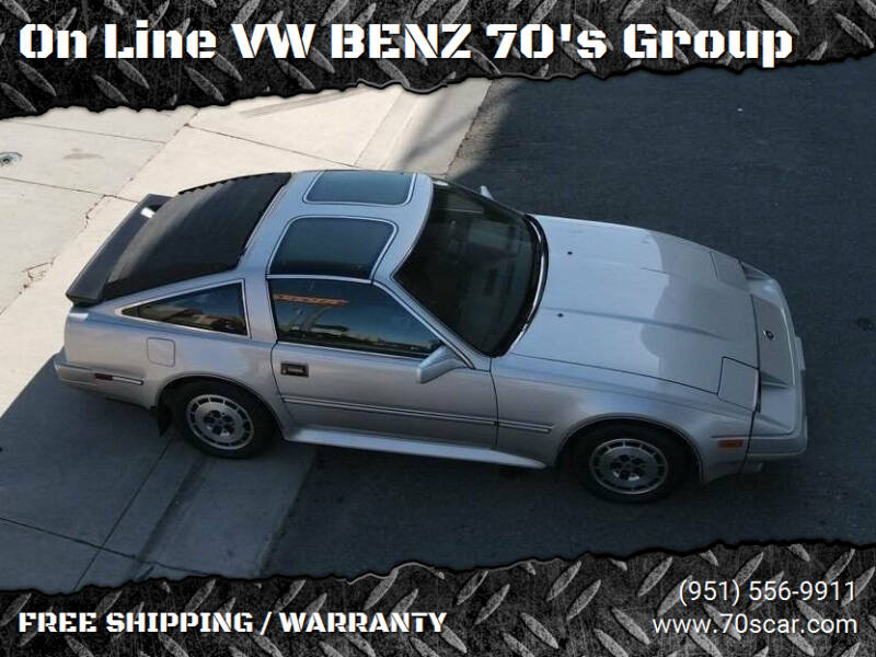 1986 Nissan 300ZX for sale at OnLine VW-BENZ.COM Auto Group in Riverside CA