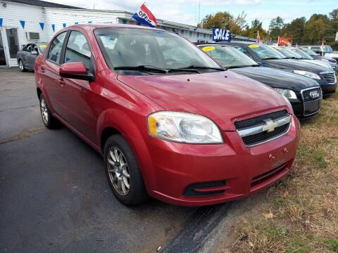 2011 Chevrolet Aveo for sale at Plaistow Auto Group in Plaistow NH