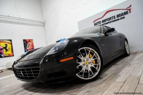 2007 Ferrari 612 Scaglietti for sale at AUTO IMPORTS MIAMI in Fort Lauderdale FL