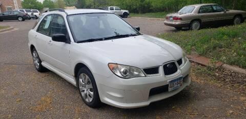 2007 Subaru Impreza for sale at Fleet Automotive LLC in Maplewood MN