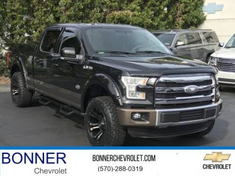 2015 Ford F-150 for sale at Bonner Chevrolet in Kingston PA