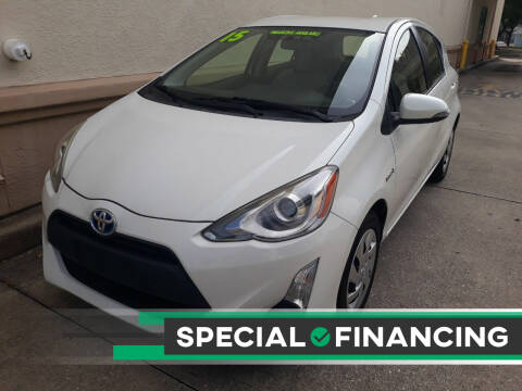 2015 Toyota Prius c for sale at Go Time Automotive in Sarasota FL