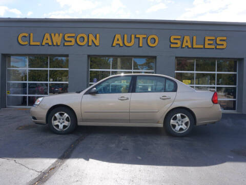 2004 Chevrolet Malibu for sale at Clawson Auto Sales in Clawson MI