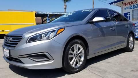 2016 Hyundai Sonata for sale at Olympic Motors in Los Angeles CA
