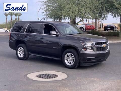 2015 Chevrolet Tahoe for sale at Sands Chevrolet in Surprise AZ