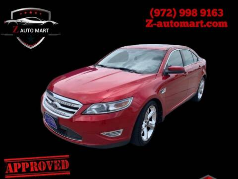 2010 Ford Taurus for sale at Z AUTO MART in Lewisville TX