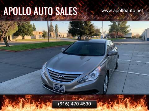 2014 Hyundai Sonata for sale at APOLLO AUTO SALES in Sacramento CA