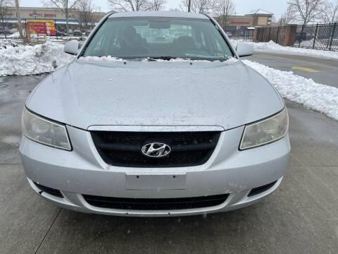 2007 Hyundai Sonata for sale at Via Roma Auto Sales in Columbus OH