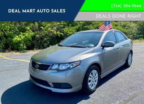 2012 Kia Forte for sale at Deal Mart Auto Sales in Phenix City AL