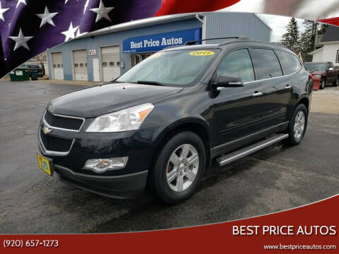 2011 Chevrolet Traverse for sale at Best Price Autos in Two Rivers WI