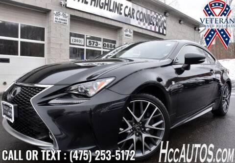 2017 Lexus RC 300 for sale at The Highline Car Connection in Waterbury CT