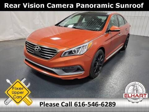 2015 Hyundai Sonata for sale at Elhart Automotive Campus in Holland MI