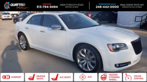 2017 Chrysler 300 for sale at Quattro Motors 2 - 1 in Redford MI